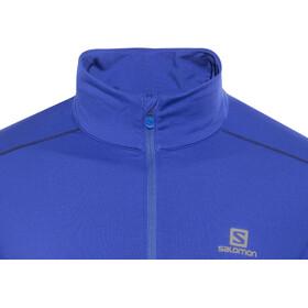 Salomon Agile Warm HZ Midlayer Men Surf The Web/Dress Blue